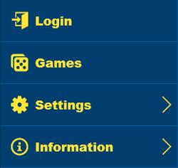 jackpot liner mobile menu