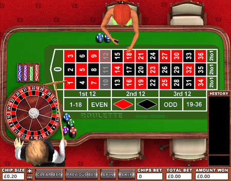 jackpot liner roulette online casino game