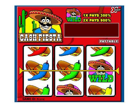 jackpot liner cash fiesta 3 reel online slots game