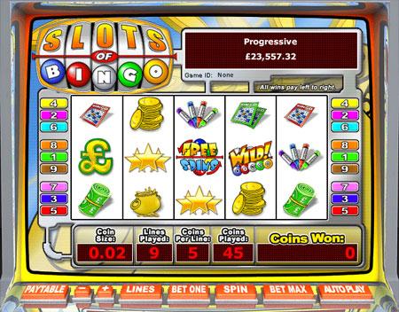jackpot liner slots of bingo 5 reel online slots game